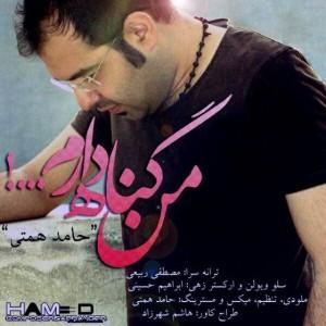 Hamed Hemmati Man Gonah Daram 300x300 - متن آهنگ
