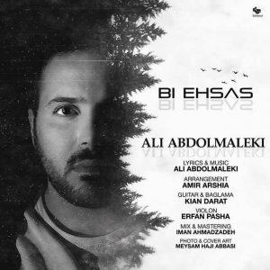 متن آهنگ بی احساس علی عبدالمالکی